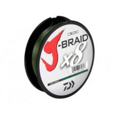 Шнур Daiwa J-Braid X8 0.16 mm 150m Dark Green