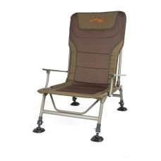 Кресло карповое с подлокотниками Fox Duralight XL chair (до 180кг)