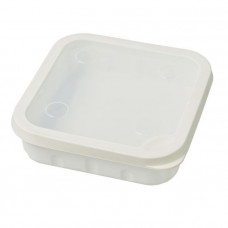 Коробка для наживки Garbolino SQUARE BAIT BOXES -WITH NON-PERFORATED LID-2L - WHITE GOMAH0007-2.0