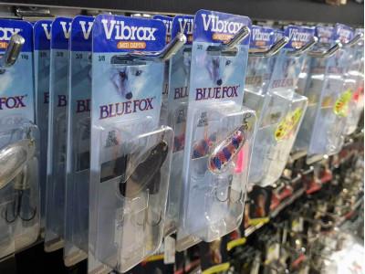 Vibrax Blue Fox поповнення в магазинах Lucky Fisher