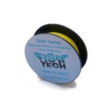 Шнур Sixth Sense FishTech 15 lb размотка 100 м 4 жилы