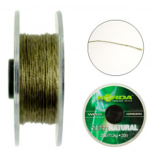 Поводочный материал Korda Super Natural Weed Green 18lb KSNG