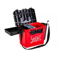 Ящик зимовий пластиковий (високий) Lucky John (38x26x31.5 cm)